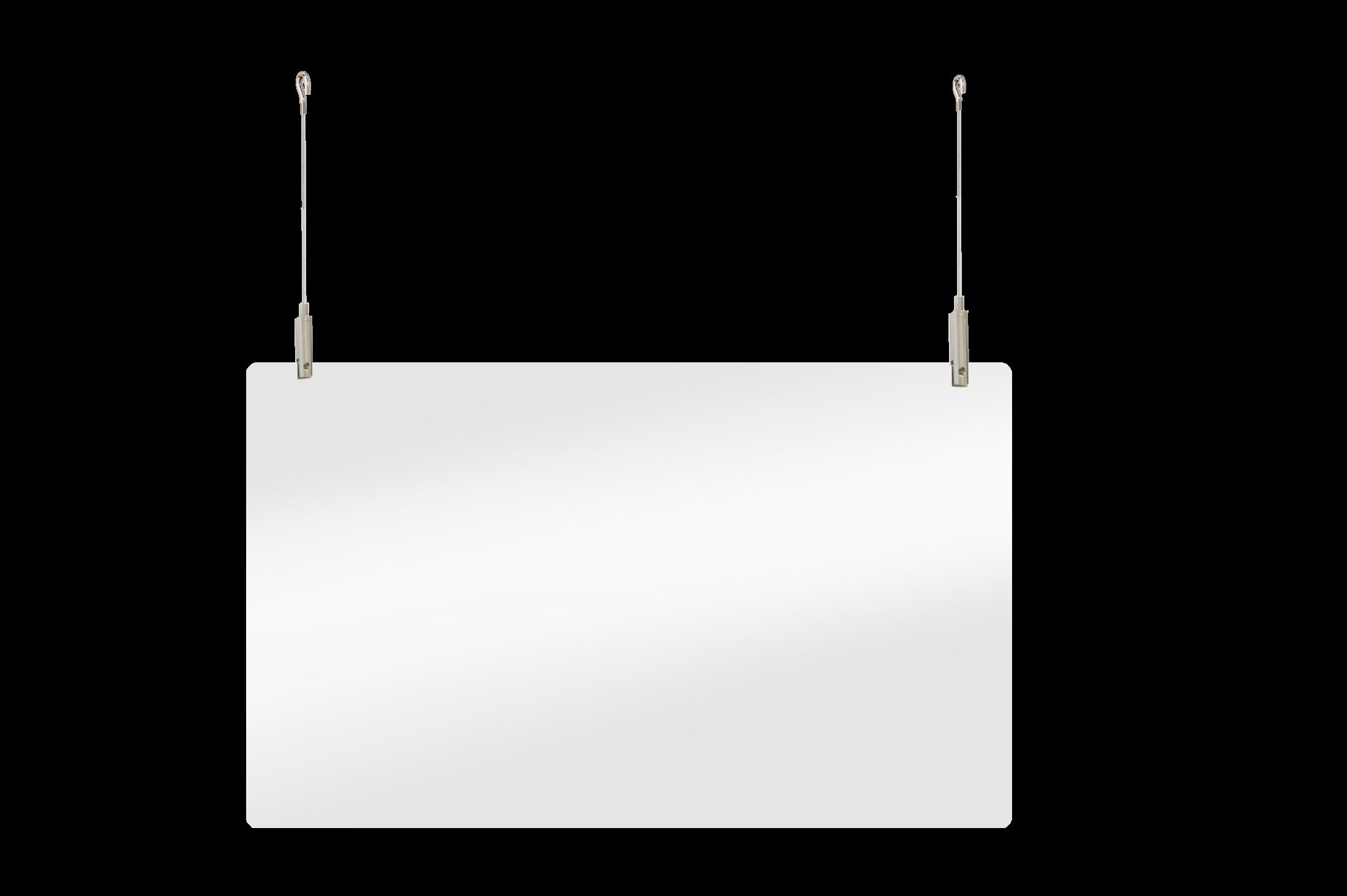Plexiglas scherm